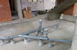 Монтаж канализации в коттедже под ключ Пушкино