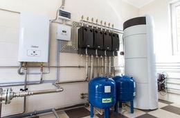 Монтаж системы отопления в коттедже Пушкино