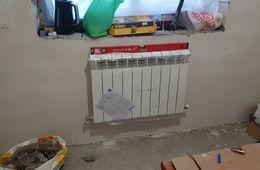 Монтаж радиатора отопления в частном доме Пушкино