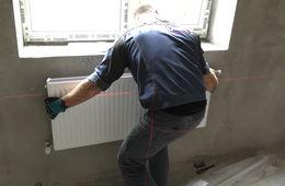 Монтаж стальных радиаторных панелей Пушкино