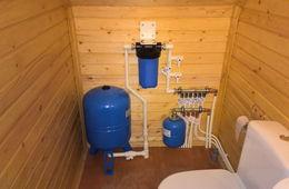 Монтаж водоснабжения в частном доме Пушкино