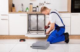 Установка бытовой техники на кухне Пушкино