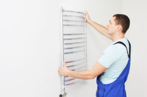 Установка и замена полотенцесушителя в Пушкино