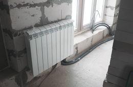 Замена радиаторов отопления в квартире Пушкино